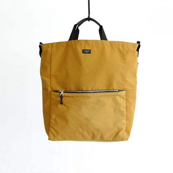 3WAY ZIP TOTE