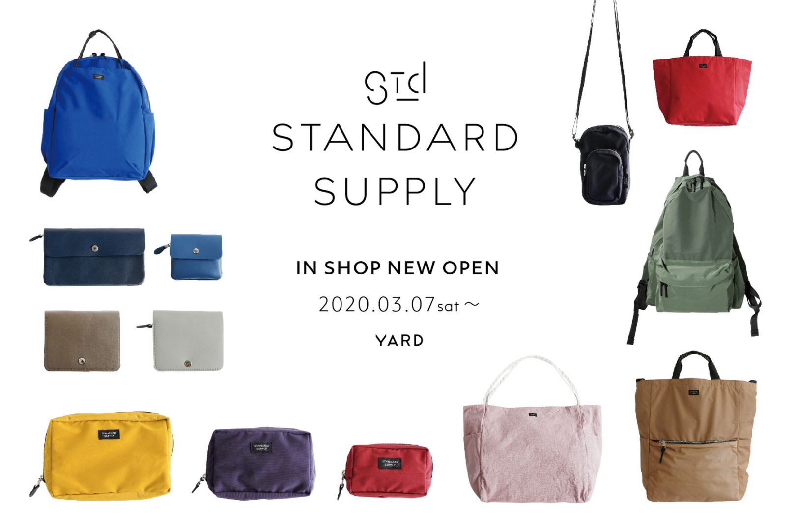 STANDARD SUPPLY in shop オープン @YARD熊本
