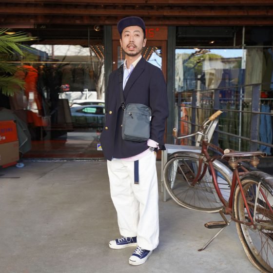 WEEKEND SHOULDER TALL / BEAMS PLUS別注