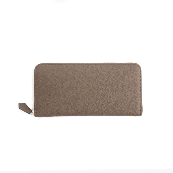 ROUND ZIP LONG WALLET
