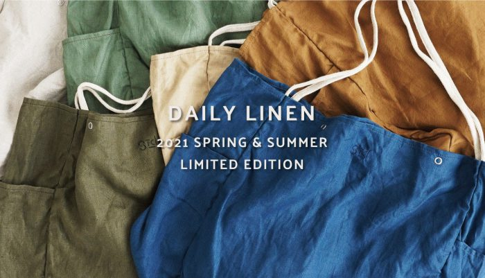 """2021 SPRING & SUMMER LIMITED EDITION  """" DAILY LINEN """""""
