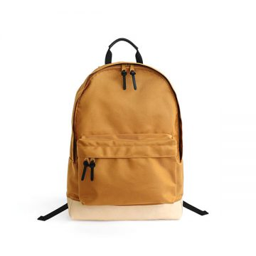 LEATHER BOTTOM DAYPACK